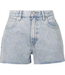 farrah short time worn cut-off denim shorts