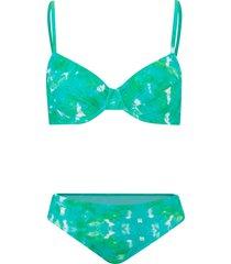 bikini con ferretto (set 2 pezzi) (verde) - bpc bonprix collection