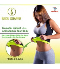 redu shaper women medium, xtreme power belt,cami hot, tecnomed, redushaper