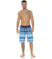 pantaloneta de baño sublimada, azul oscuro para hombre, racketball
