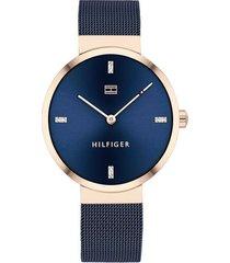 reloj azul tommy hilfiger 1782219 - superbrands