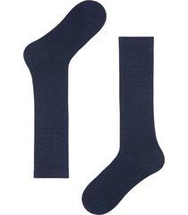 calzedonia tall stretch cotton socks man blue size 44-45