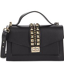 adrienne studded leather crossbody bag