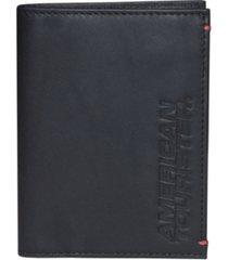 men's merging core rfid passport wallet