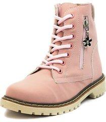 botas rosa blanco perla bc-300