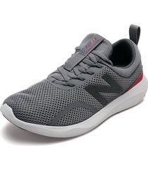 tenis running gris-fucsia-blanco new balance course