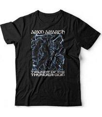 camiseta amon amarth thunder god - unissex