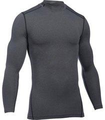 sueter under armour coldgear armour compression mock-azul-gris