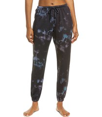 women's onzie fleece tie dye joggers