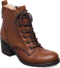 patsie d shoes boots ankle boots ankle boot - heel brun dune london