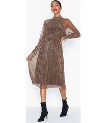 vero moda vmalexandra ls high neck calf dress loose fit dresses