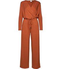 danza jumpsuit orange max mara leisure