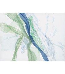 "jan sullivan fowle beach glass canvas art - 36.5"" x 48"""