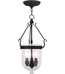 livex jefferson 3-light pendant