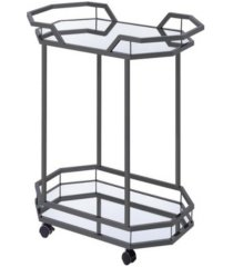 brooklyn 2-tier serving cart