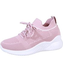 plataforma de mujer 'flying flying sneakers de tela pure color casual sport