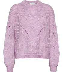 antico cable sweater stickad tröja lila designers, remix