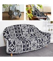 nueva bohemia boho sofá tiro alfombra sofá sofá del salón silla hoja de manta cama # 230 * 275cm - 230x275cm