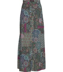 fal icaria lång kjol multi/mönstrad desigual