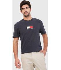 camiseta azul navy-blanco-rojo tommy jeans