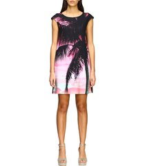 boutique moschino dress boutique moschino dress with palm print