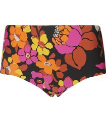 saint laurent floral printed panties