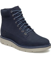 kenniston 6in lace up shoes boots ankle boots ankle boot - flat blå timberland