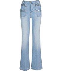 georgia high-rise flared jeans