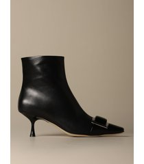sergio rossi flat booties sergio rossi sr1 ankle boot in leather