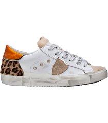 scarpe sneakers donna in pelle prsx