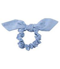 elástico de cabelo valentina - azul