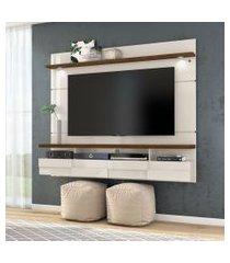 painel para tv 50 polegadas lana off white savana 180 cm