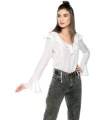 blusa blanco glamorous