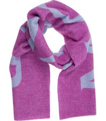 moncler active wool scarf