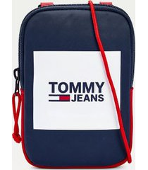 tommy hilfiger men's recycled tj compact pouch corporate -