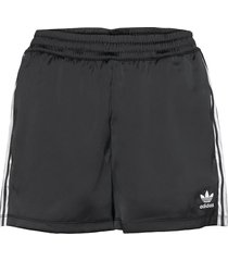 adicolor classics satin shorts w shorts flowy shorts/casual shorts svart adidas originals