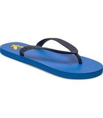 flip flop shoes summer shoes flip flops blå lyle & scott