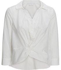 blus vivalina cropped shirt