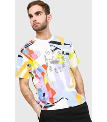 camiseta multicolor adidas originals love unites unisex