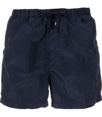 stone island shell swim shorts - blue