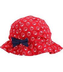 chapéu infantil pimpolho de 2 a 4 anos moranguinho feminino