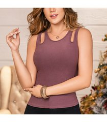 blusa yanela morado para mujer croydon