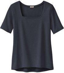 carré-shirt van bio-katoen, zwart 46