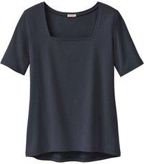 carré-shirt van bio-katoen, zwart 38