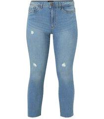 jeans vmmanyadina mb cropped jeans k cu