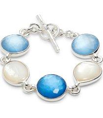 ippolita women's sterling silver & multi-stone bracelet