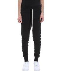 john elliott escobar sweat pants in black cotton