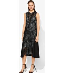 proenza schouler lace sleeveless dress black 2