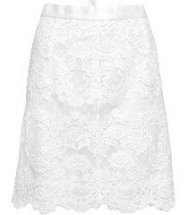 minnie skirt knälång kjol vit ida sjöstedt