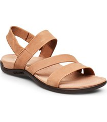 district kanoya strap shoes summer shoes flat sandals brun merrell